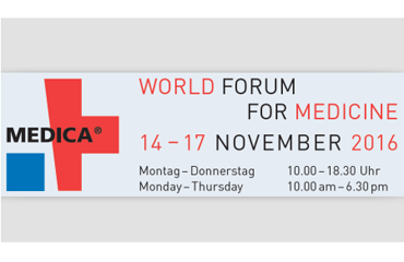 MEDICA 2016 Germany——HALL 6 BOOTH D64-3